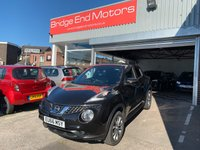 USED 2016 66 NISSAN JUKE 1.5 TEKNA DCI 5d 110 BHP ONLY 7331 MILES FROM NEW, £20 A YEAR ROAD TAX, LOW CO2 EMISSIONS, NISSAN WARRANTY UNTIL 10/2019, TOP SPEC TEKNA MODEL WITH - LEATHER TRIM, REVERSE CAMERAS, ALLOY WHEELS, CLIMATE CONTROL, CRUISE CONTROL, BLUETOOTH PHONE AND MEDIA PREP, MEDIA USB INPUT, SAT NAV SYSTEM