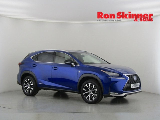 View our 2016 66 LEXUS NX 2.5 300H F SPORT 5d AUTO 153 BHP