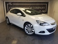 USED 2013 13 VAUXHALL ASTRA GTC 1.4 T GTC SRI S/S 3d + HALF LEATHER + PRIVACY GLASS