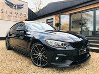 2016 BMW 4 SERIES 3.0 430D XDRIVE M SPORT GRAN COUPE 4d AUTO 255 BHP £21490.00