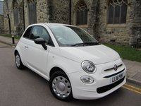 USED 2016 16 FIAT 500 1.2 POP 3d 69 BHP ++ VERY LOW MILEAGE ++