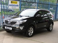 2011 KIA SPORTAGE 1.6 2 5d Pan roof 1/2 Leather Cruise Privacy £SOLD