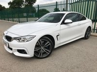 2016 BMW 4 SERIES 3.0 435D XDRIVE M SPORT 2d AUTO 309 BHP ALLOYS PRIVACY LEATHER SATNAV CRUISE BLUETOOTH A/C FSH MOT 02/20 £20990.00