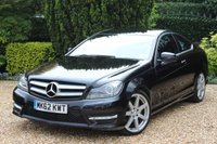 USED 2012 62 MERCEDES-BENZ C CLASS 2.1 C250 CDI BLUEEFFICIENCY AMG SPORT 2d AUTO 204 BHP ** EXCELLENT CONDITION AND SPECIFICATION **