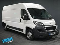 USED 2015 65 PEUGEOT BOXER 2.2 HDI 335 L3H2 PROFESSIONAL (NO VAT) * 0% Deposit Finance Available