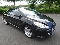 2006 PEUGEOT 307 2.0 SE COUPE CABRIOLET HDI 2d 136 BHP £1490.00