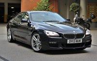 2013 BMW 6 SERIES 3.0 640D M SPORT GRAN COUPE 4d AUTO 309 BHP £16990.00