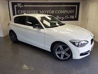 USED 2014 63 BMW 1 SERIES 2.0 116D SPORT 5d + PRIVACY GLASS + EXTRAS