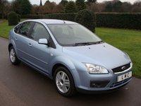 2007 FORD FOCUS 1.6 GHIA 16V 5d 113 BHP £2190.00