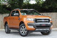 USED 2016 16 FORD RANGER 3.2 WILDTRAK 4X4 DCB TDCI 1d AUTO 197 BHP ** FINANCE AVAILABLE ** **PRICE IS PLUS VAT*
