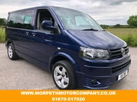 USED 2003 53 VOLKSWAGEN CARAVELLE 2.5 S TDI 5d 129 BHP **2012 FRONT END CONVERSION**
