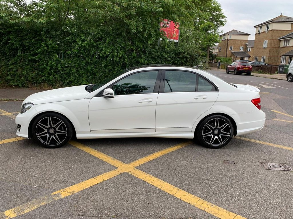 Mercedes-Benz C Class C180 Blueefficiency Amg Sport Plus