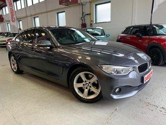 2015 BMW 4 SERIES 2.0 420D SE GRAN COUPE 4d 181 BHP £15995.00