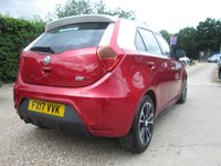 USED 2017 17 MG 3 1.5 3 STYLE VTI-TECH 5d 106 BHP £1,189 OF FACTORY FITTED OPTIONS