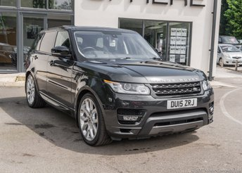 2015 LAND ROVER RANGE ROVER SPORT 4.4 SDV8 AUTOBIOGRAPHY DYNAMIC 5d 339 BHP £SOLD