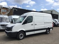 USED 2016 66 VOLKSWAGEN CRAFTER 2.0TDI CR35 MWB HIGH ROOF BMT. LOW 71K. VW WARRANTY. PX EURO 6. VW WARRANTY 12.2019. 71K. F/S/H. FINANCE. PX
