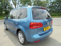 USED 2014 14 VOLKSWAGEN TOURAN 1.6 SE TDI BLUEMOTION TECHNOLOGY 5d 103 BHP