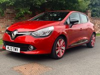 USED 2013 13 RENAULT CLIO 0.9 DYNAMIQUE S MEDIANAV ENERGY TCE S/S 5d 90 BHP FULL SERVICE HISTORY, £20 TAX, MOT JULY 20,  EXCELLENT CONDITION,  NAV, ALLOYS, CLIMATE, CRUISE, BLUETOTH, E/WINDOWS, R/LOCKING, FREE  WARRANTY, FINANCE AVAILABLE, HPI CLEAR, PART EXCHANGE WELCOME,