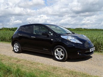 2013 NISSAN LEAF 0.0 EV 5d AUTO 107 BHP Battery Owned Range 84 miles Sat Nav £8495.00