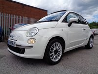 USED 2009 59 FIAT 500 1.2 C LOUNGE MULTIJET 3d 75 BHP 1 FORMER KEEPER £20 ROAD TAX