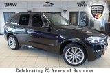 USED 2015 15 BMW X5 3.0 XDRIVE30D M SPORT 7 SEATER 5d AUTO 255 BHP FINISHED IN STUNNING SAPPHIRE BLACK WITH FULL BLACK LEATHER SEATS + FULL BMW SERVICE HISTORY + PRO SATELLITE NAVIGATION + PANORAMIC ROOF + REVERSE CAMERA + ADAPTIVE XENON HEADLIGHTS + HEATED FRONT SEATS + 20 INCH ALLOYS + 7 SEATER + ELECTRIC/MEMORY FRONT SEATS + AUTOMATIC AIR CONDITIONING
