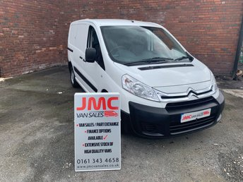 2014 CITROEN DISPATCH 1.6 1000 L1H1 ENTERPRISE HDI  90 BHP 1OWNER FULL SERVICE HISTORY  £6695.00
