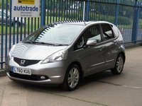 2010 HONDA JAZZ 1.3 I-VTEC EX 5d Pan roof Climate Privacy  £5000.00