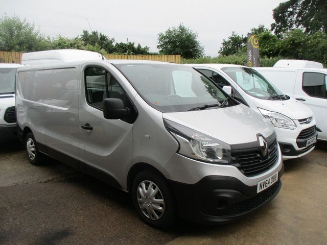 2014 64 RENAULT TRAFIC 1.6 dci Business Turbo Diesel L2 H1 Lwb in Silver