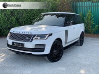 USED 2018 18 LAND ROVER RANGE ROVER 4.4 SDV8 AUTOBIOGRAPHY 5d AUTO 340 BHP VAT QUALIFYING  BLACK PACK