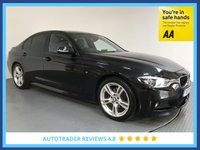 USED 2017 17 BMW 3 SERIES 2.0 320D M SPORT 4d AUTO 188 BHP FULL HISTORY - 1 OWNER - SAT NAV - REAR SENSORS - LEATHER - EURO 6 - AIR CON - BLUETOOTH - DAB
