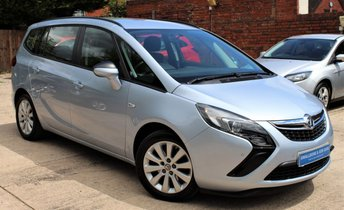 2015 VAUXHALL ZAFIRA TOURER 1.4 DESIGN 5d 138 BHP £SOLD