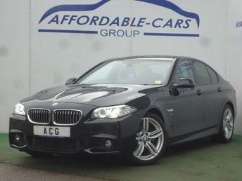 2014 BMW 5 SERIES 2.0 520D M SPORT 4d AUTO 181 BHP £12950.00