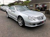 USED 2006 MERCEDES-BENZ SL 3.5 SL350 2d AUTO 272 BHP