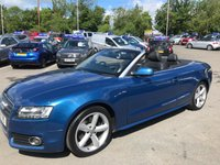 USED 2010 10 AUDI A5 2.0 TDI S LINE 2d 168 BHP IN METALLIC BLUE WITH A HUGH SPEC AND 86000 MILES WITH A FULL SERVICE HISTORY WITH 13 SERVICE STAMPS. APPROVED CARS ARE PLEASED TO OFFER THIS AUDI A5 2.0 TDI S LINE 2d 168 BHP IN METALLIC BLUE WITH 86000 MILES WITH A FULL SERVICE HISTORY WITH 13 SERVICE STAMPS IN THE SERVICE BOOK WITH A CAM BELT REPLAYEMENT AT 55000 MILES A TRULY STUNNING EXAMPLE WITH A GREAT SPEC INCLUDING  DAY-TIME RUNNING LIGHTS,(Fine Nappa Leather), Technology Package, Audi Parking System Plus and much more a truly stunning looking and driving car ideal for the summer. FOR FURTHER INFORMATION PLEASE CALL ON 01622871555.