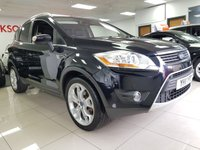 2011 FORD KUGA 2.0 TITANIUM TDCI AWD 5d+PAN ROOF+HEATED LEATHER+SAT NAV+CAMERA+XENONS+ £6490.00
