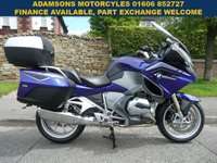 USED 2015 65 BMW R SERIES 1170cc R 1200 RT LE Low Miles,Full Service History,BMW Sat Nav