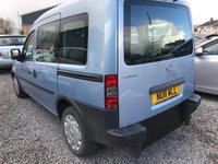USED 2011 11 VAUXHALL COMBO COMBO TOUR DIESEL Wheelchair conversion