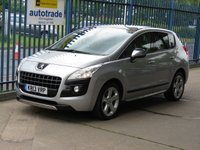 2013 PEUGEOT 3008 1.6 ALLURE E-HDI 5d Auto Head up display Pan roof Cruise £6000.00