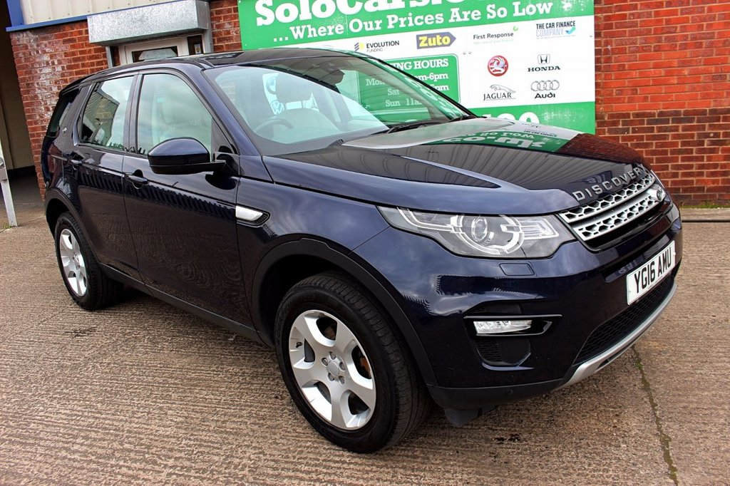 2016 16 LAND ROVER DISCOVERY SPORT 2.0 TD4 HSE 5d 150 BHP
