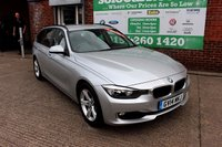 USED 2014 14 BMW 3 SERIES 2.0 320D SE TOURING 5d AUTO 181 BHP +AUTOMATIC +SAT NAV +ESTATE.