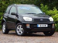 2001 TOYOTA RAV4 2.0 NRG VVT-I 3d 146 BHP £2470.00