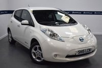 USED 2015 15 NISSAN LEAF 0.0 ACENTA 5d AUTO 110 BHP (ONLY 5,000 MILES)