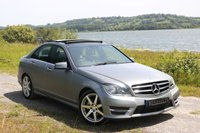 USED 2014 14 MERCEDES-BENZ C CLASS 2.1 C220 CDI AMG SPORT EDITION PREMIUM PLUS 4d AUTO 168 BHP