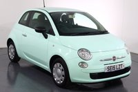 USED 2015 15 FIAT 500 1.2 POP 3d 69 BHP CHEAP INSURANCE I 2 OWNERS