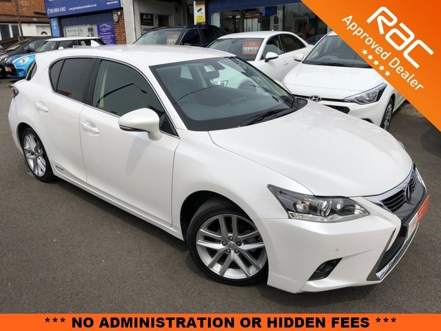 2016 16 LEXUS CT 1.8 200H LUXURY 5d AUTO 134 BHP