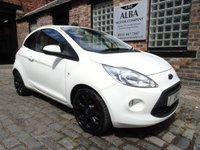 2016 FORD KA 1.2 ZETEC WHITE EDITION 3d 69 BHP £4995.00