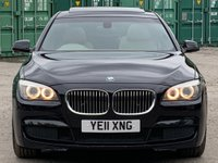 USED 2011 11 BMW 7 SERIES 3.0 730Ld M Sport LWB Saloon 4dr SunRoof/RearScreens/ReverseCam