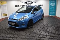 USED 2012 62 FORD FIESTA 1.6 Zetec S 3dr 2 OWNERS, LOW MILES, FSH