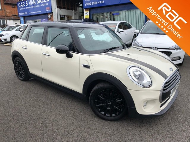 2016 16 MINI HATCH COOPER 1.5 COOPER 5d AUTO 134 BHP
