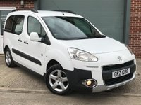 USED 2013 PEUGEOT PARTNER 1.6 HDI TEPEE OUTDOOR 5d 112 BHP